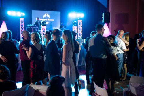 Hochzeitsparty mit Live-Musik