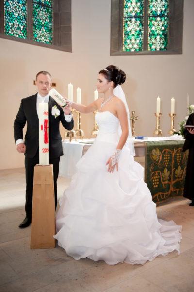 Kirchliche Trauung russische Hochzeit