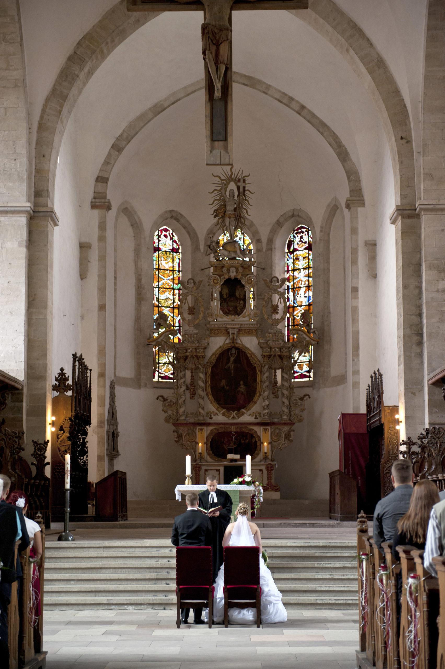Kirchliche Trauung in Deutschland