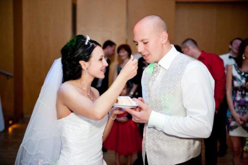 russisch- deutsche Hochzeitstorte