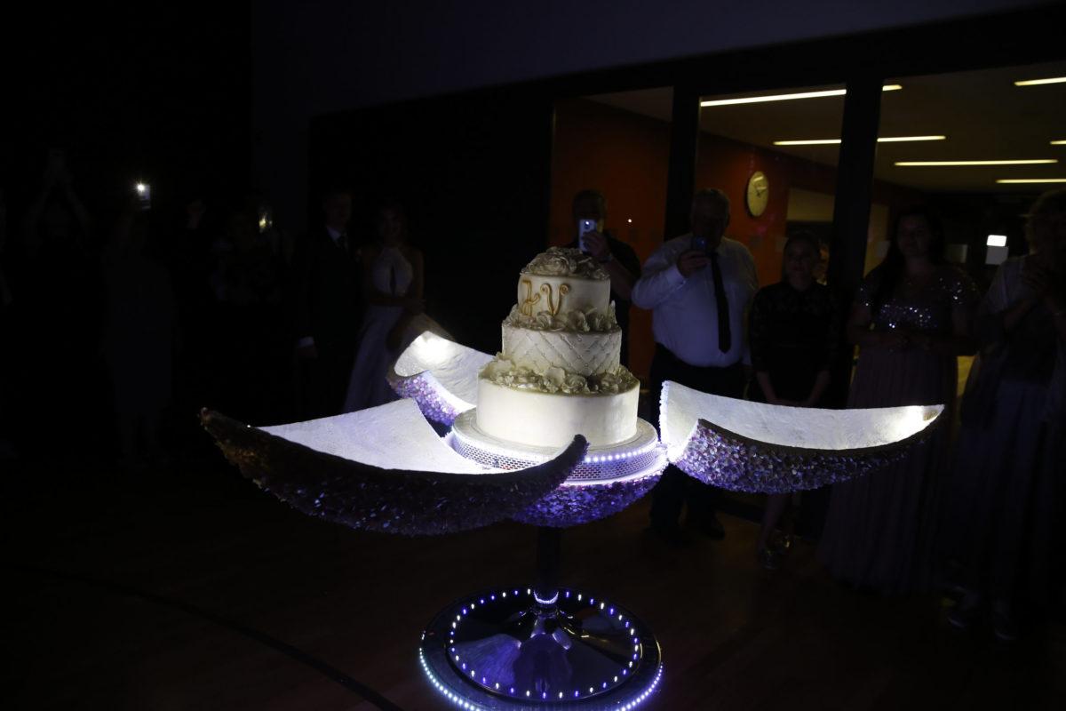 die Hochzeitstorte - russische Catering