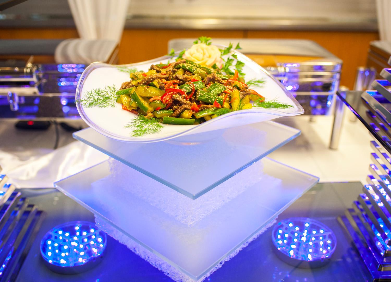 Koreanische Gurken Salat